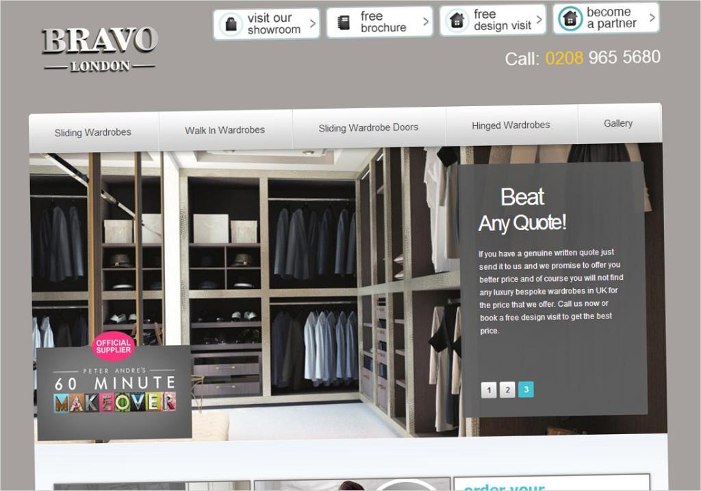 Bravo London Wardrobes