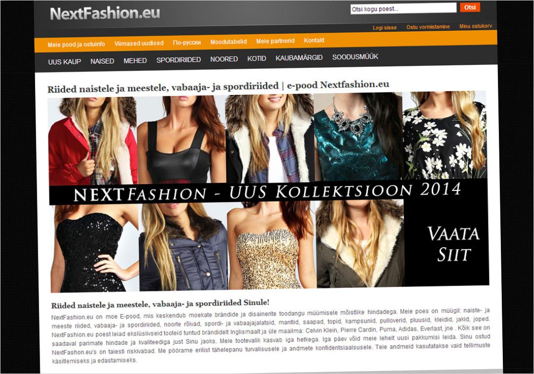 Nextfashion Online Store