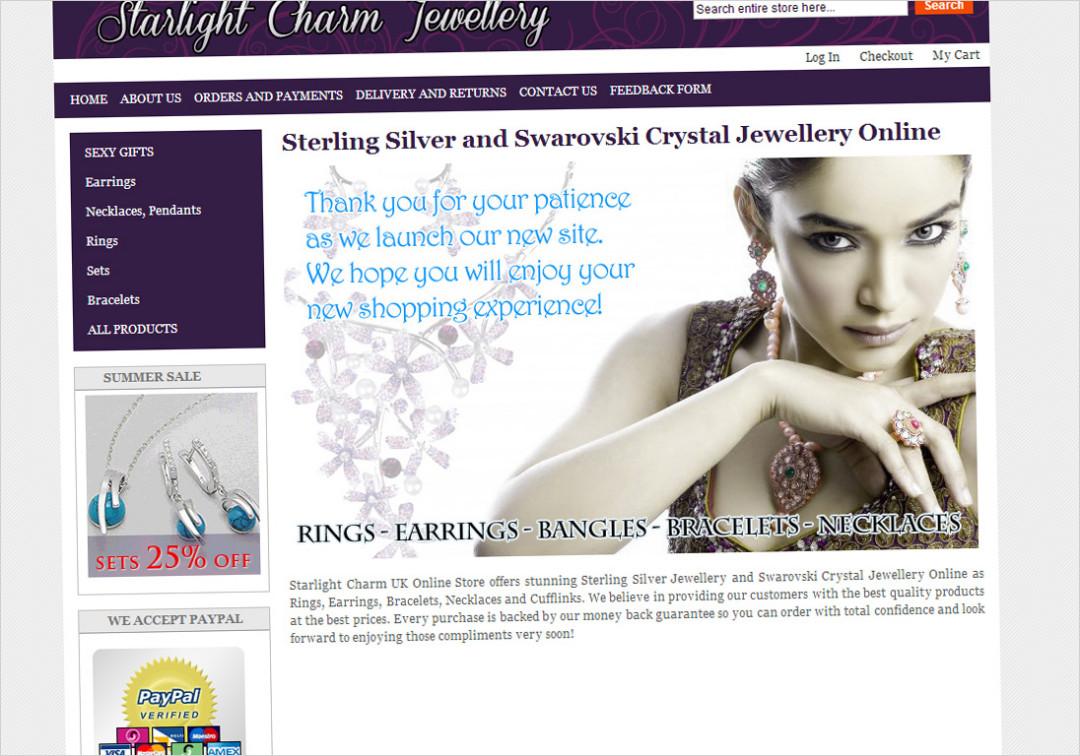 Starlight Charm Jewellery