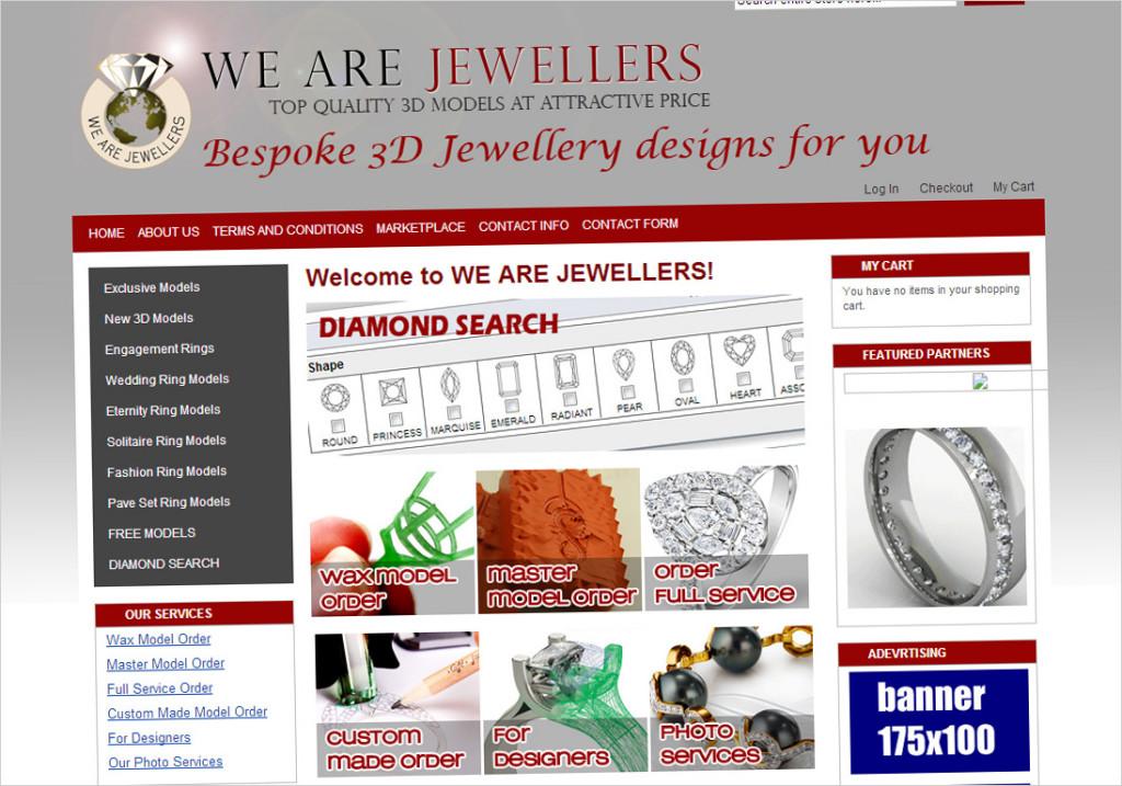 3D Design Models Jewellery