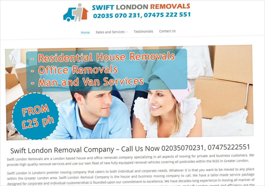 Swift London Removals