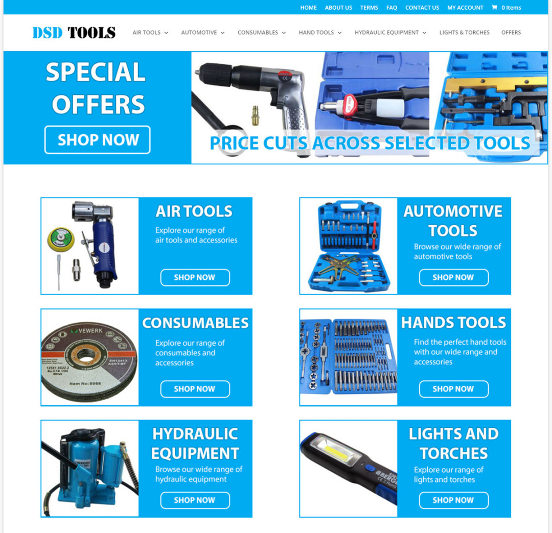 DSD Tools Online Shop