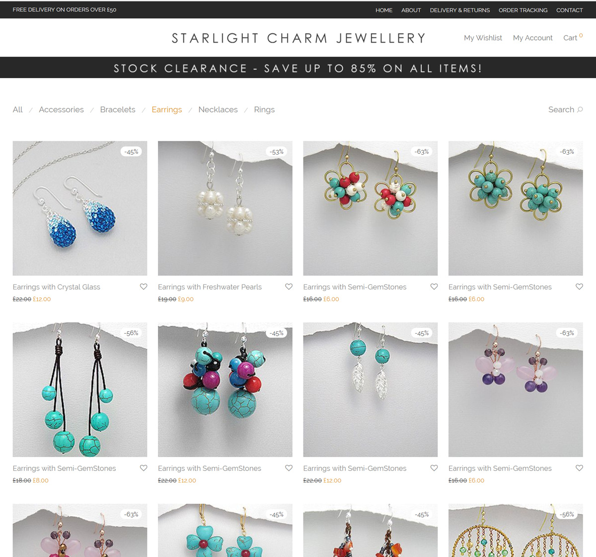 Starlight Charm Jewellery Online Shop