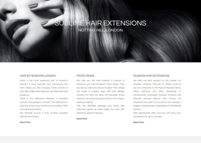 Sublime Hair Extensions Salon